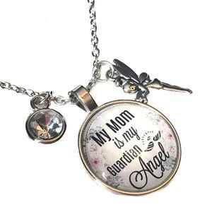 Jewelry - My Mom is my Guardian Angel Necklace
